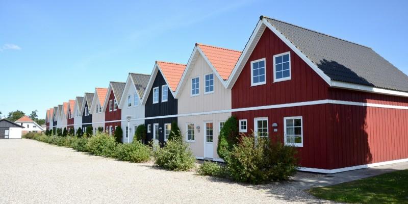 Siedlung mit Ferienwohnungen