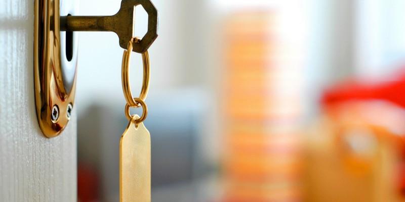 Schlüssel zur Wohnung